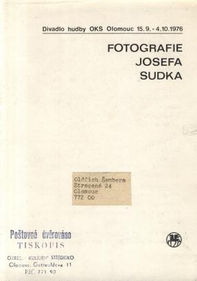 Fotografie Josefa Sudka