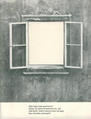 Motiv okna v díle deseti současných českých výtvarných umělců