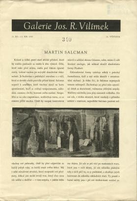 Martin Salcman / Martin Salcman