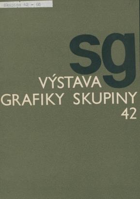 Výstava grafiky Skupiny 42