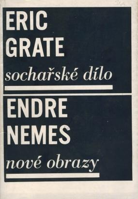 Eric Grate: Sochařské dílo, Endre Nemes: Nové obrazy