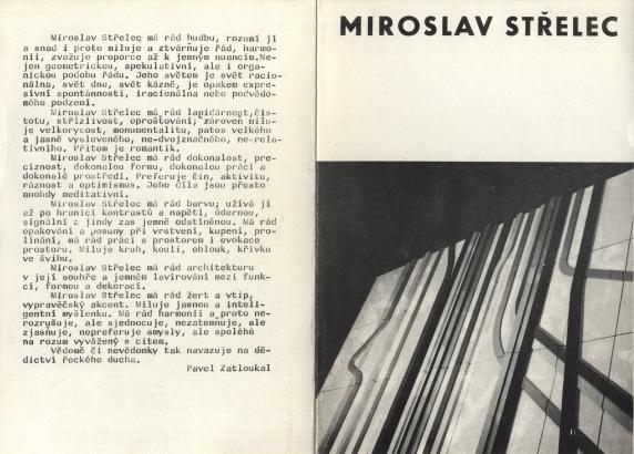 Miroslav Střelec: Užitá grafika, objekty, realizace