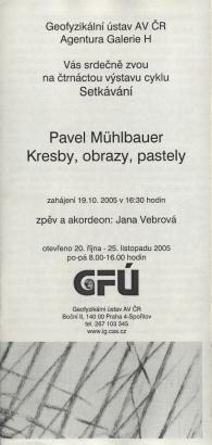 Pavel Mühlbauer: Kresby, obrazy, pastely