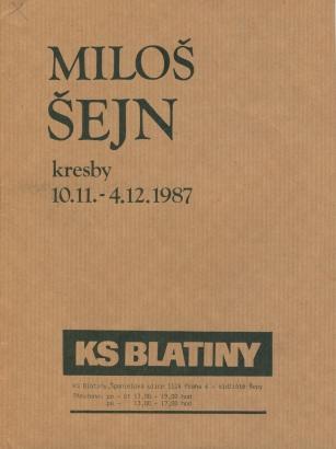 Miloš Šejn: Kresby
