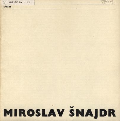 Miroslav Šnajdr: Kresby