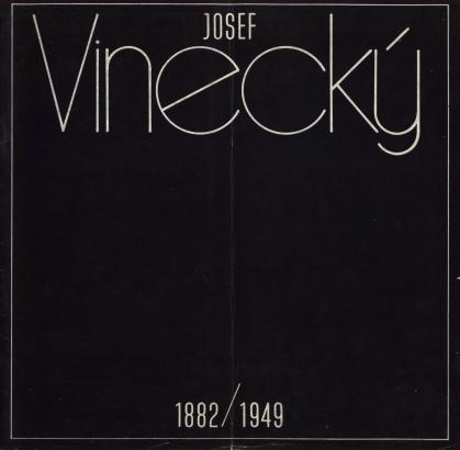 Josef Vinecký 1882 / 1949