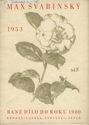 Max Švabinský: Rané dílo do roku 1900
