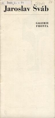 Jaroslav Šváb: Volná grafika a grafický plakát