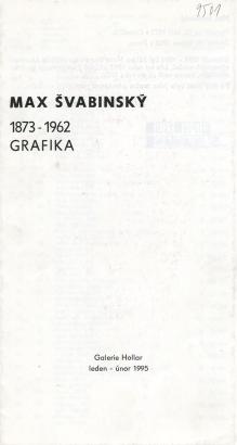 Max Švabinský 1873 - 1962: Grafika
