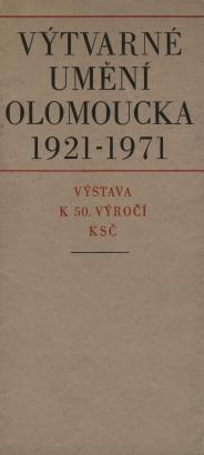 Výtvarné umění Olomoucka 1921 - 1971
