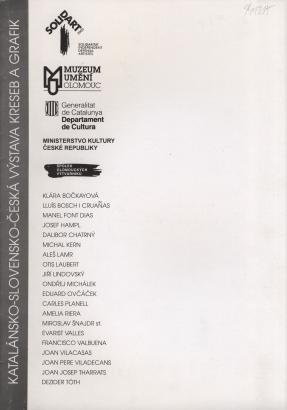 Katalánsko-slovensko-česká výstava kreseb a grafik