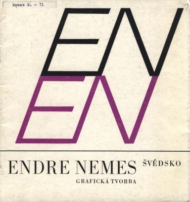 Endre Nemes: Grafická tvorba