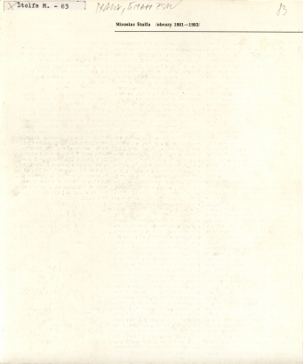 Miroslav Štolfa: Obrazy 1981 - 1983