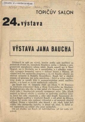 Výstava Jana Baucha