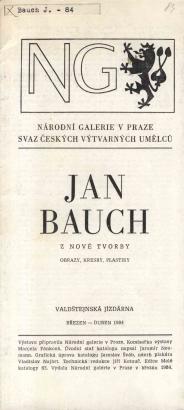 Jan Bauch: Z nové tvorby