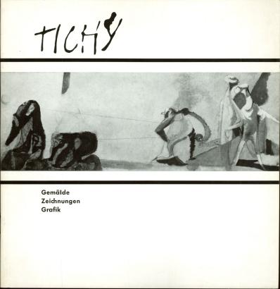 František Tichý: Gemälde, Zeichnungen, Grafik