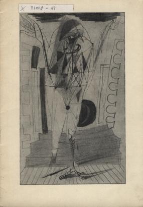Obrazy a kresby Františka Tichého