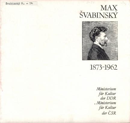 Max Švabinský: 1873-1962