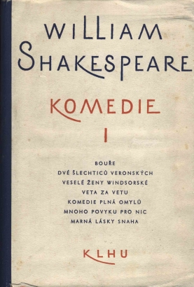 Shakespeare, William - Komedie I