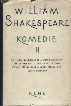 Shakespeare, William - Komedie II