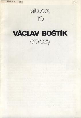 Václav Boštík: Obrazy