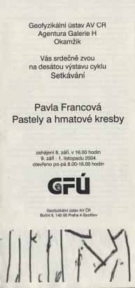 Pavla Francová: Pastely a hmatové kresby