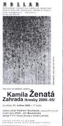 Kamila Ženatá: Zahrada