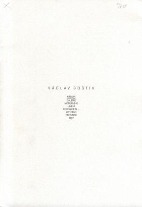 Václav Boštík: Kresby z let 1962 - 1981