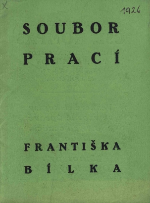 Soubor prací Františka Bílka