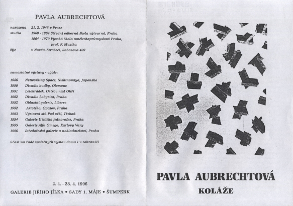 Pavla Aubrechtová: Koláže