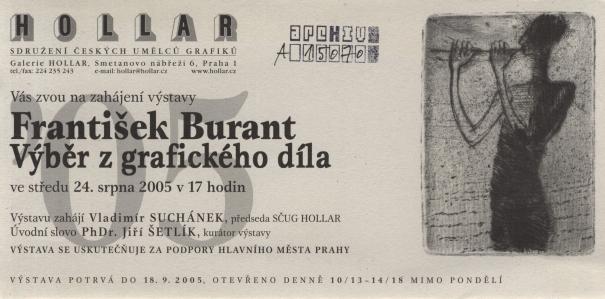 František Burant: Výběr z grafického díla