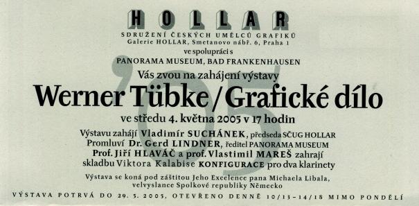 Werner Tübke: Grafické dílo