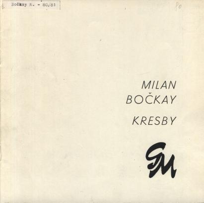 Milan Bočkay: Kresby