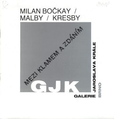 Milan Bočkay: Malby / Kresby