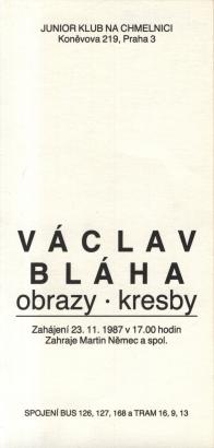 Václav Bláha: Obrazy, kresby