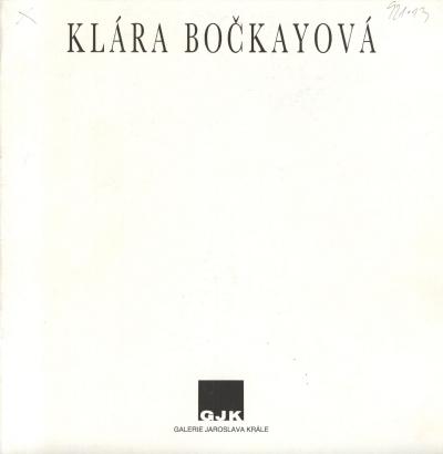 Klára Bočkayová: Obrazy
