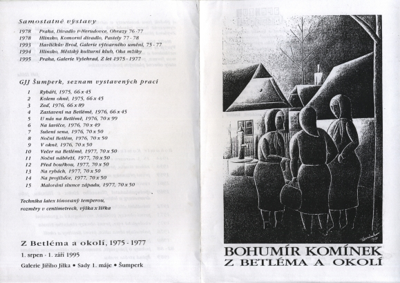 Bohumír Komínek: Z Betléma a okolí