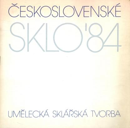 Československé sklo '84