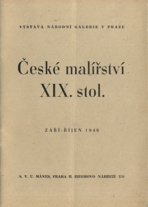 České malířství XIX. stol.