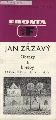 Jan Zrzavý: Obrazy a kresby