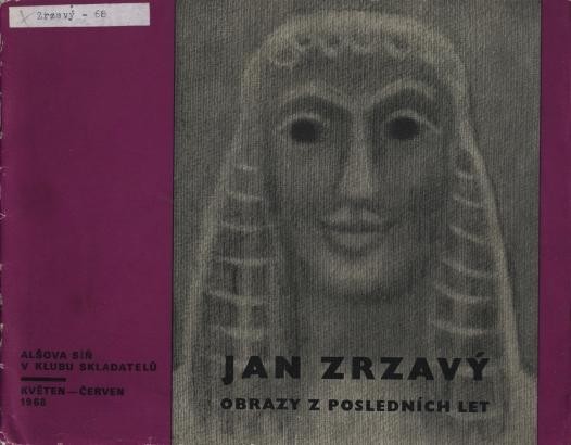 Jan Zrzavý: Obrazy z posledních let