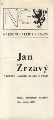 Jan Zrzavý: Z odkazu Národní galerii v Praze