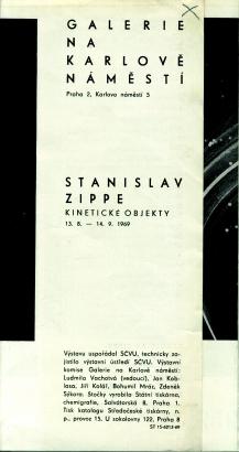 Stanislav Zippe: Kinetické objekty