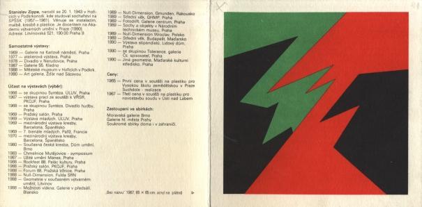 Stanislav Zippe: Instalace, obrazy, projekty