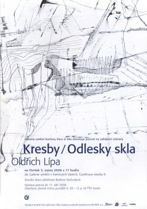Oldřich Lípa: Kresby / Odlesky skla
