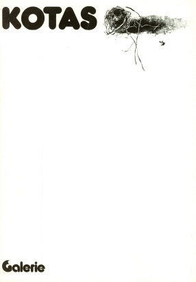 Pavel Kotas: Obrazy a kresby z let 1980 - 1982