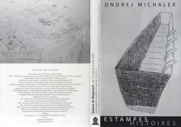 Ondřej Michálek: Estampes Histories