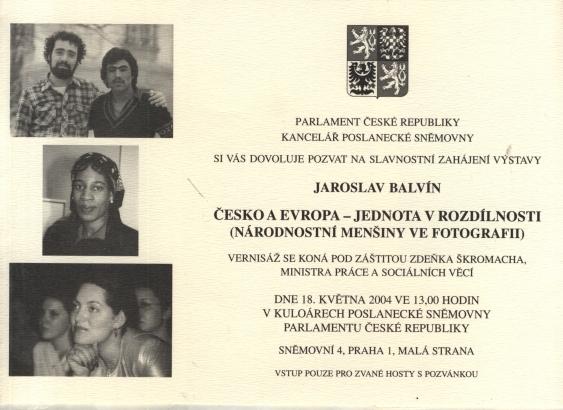 Jaroslav Balvín: Česko a Evropa - Jednota v rozdílnosti