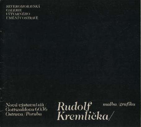 Rudolf Kremlička: Malba / grafika