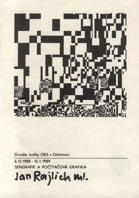 Jan Rajlich ml.: Serigrafie a počítačová grafika